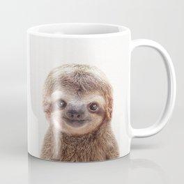 Baby Sloth, Baby Animals Art Print By Synplus Coffee Mug
