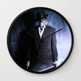 Cold to the Bone Wall Clock