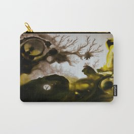 Alien embryo, acrylic on canvas Carry-All Pouch