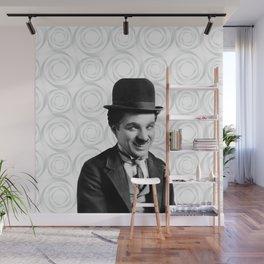 Charlie Chaplin Old Hollywood Wall Mural