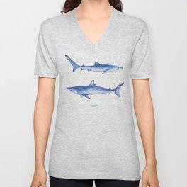 Sharks Unisex V-Neck