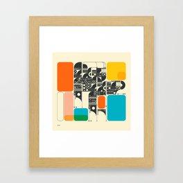 SYSTEMS (17) Framed Art Print