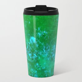 Green Reflections Travel Mug