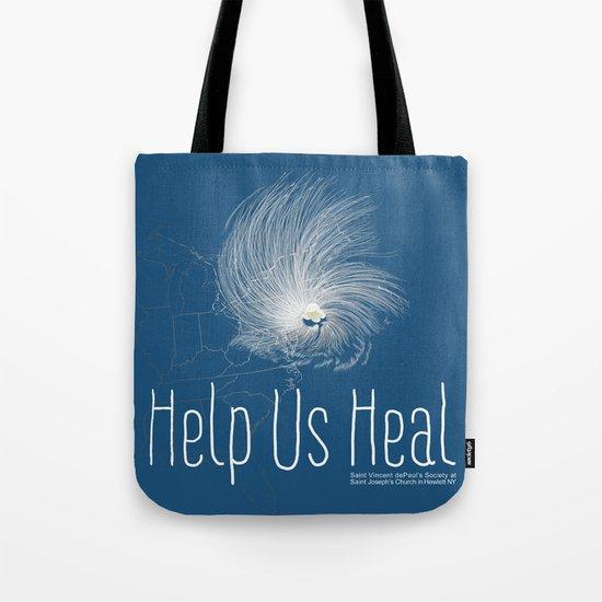 Help Us Heal - Hurricane Sandy Relief Tote Bag