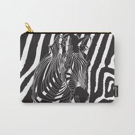 Zebra - Optical Art 5 Carry-All Pouch