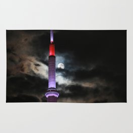 CN Tower and the moon Rug
