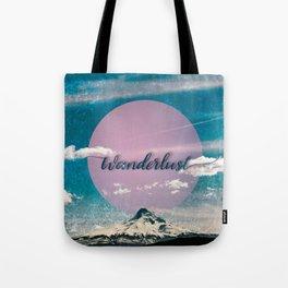 Wanderlust Mountain Tote Bag