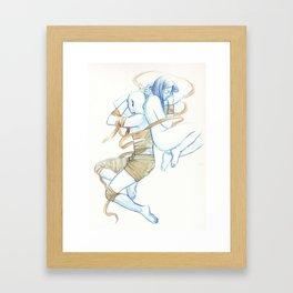 The Curse Framed Art Print
