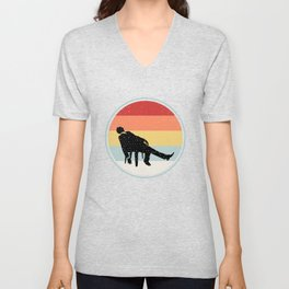 Sleeping Shirt For Father Unisex V-Neck