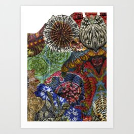 Psychedelic Botanical 3 Art Print
