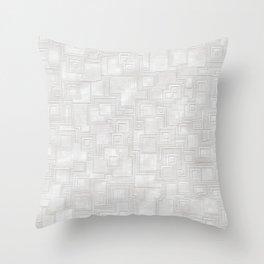 Elegant white ceramics Throw Pillow