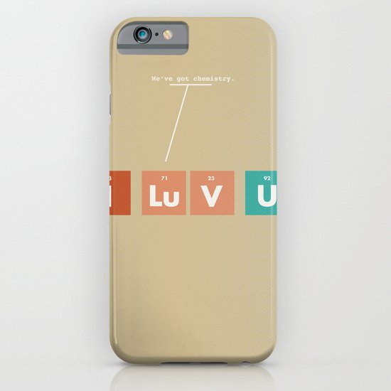 We've Got Chemistry iPhone & iPod Case