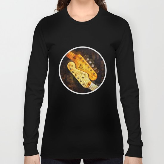 YinYang Strat Long Sleeve T-shirt