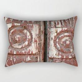 Like Watching Paint Peel Rectangular Pillow