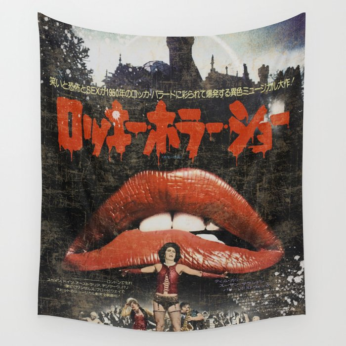 Rocky Horror poster Wall Tapestry