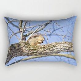 Squirrel in Nature Rectangular Pillow