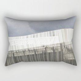 Waterfront Building Rectangular Pillow