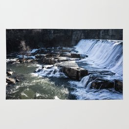 Upstate New York Waterfall Rug