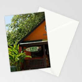 Jamaican house  Stationery Cards