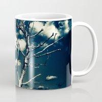 breathe Mugs featuring BREATHE by Steffen Remter