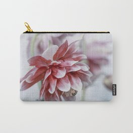 Red columbine flowers Carry-All Pouch