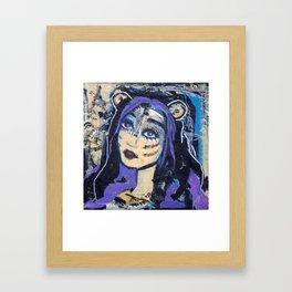 SKADI - Original painting - Marina Taliera Framed Art Print
