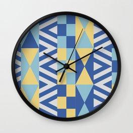 AHOY THE SEA, MAINE Wall Clock
