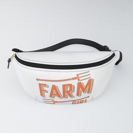 farmer agriculture pitchfork tractor gift Fanny Pack