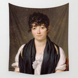 """Jacques-Louis David """"Suzanne Le Peletier de Saint-Fargeau"""" Wall Tapestry"""