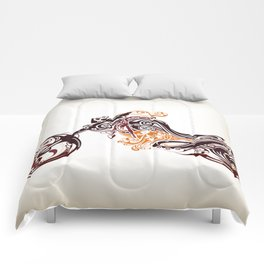 Abstract Motorcycle Comforters