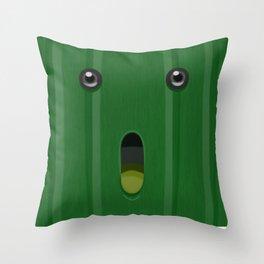 Final Fantasy: Cactuar Throw Pillow