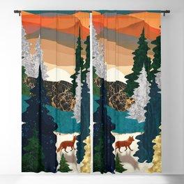 Amber Fox Blackout Curtain