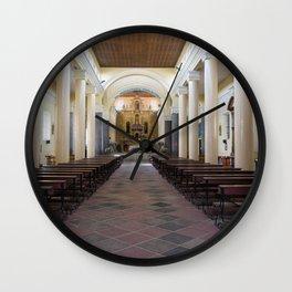 Iglesia El Jordan Wall Clock