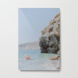 Go Kayaking Metal Print