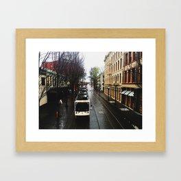 Keep the Train Coming Framed Art Print