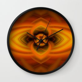 Fire Eye Wall Clock
