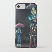 dramatical murder iPhone & iPod Cases featuring Dramatical Murder - My Neighbors... by Lalasosu2
