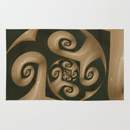 Swirling Swirls Rug