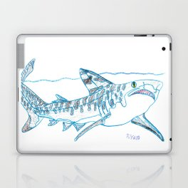 Tiger Shark II Laptop & iPad Skin