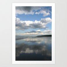 Double Sky Art Print