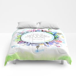 Rory Gilmore Bookish World Comforters