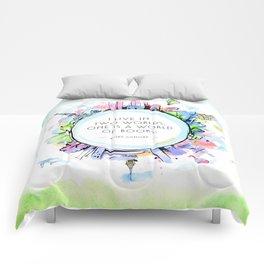 Rory Gilmore Bookish World Comforters