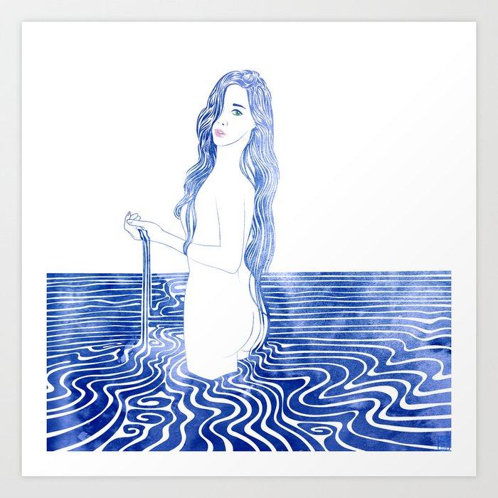 Water Nymph LXIII Art Print