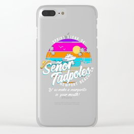 Senor Tadpoles Clear iPhone Case