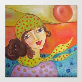 Abie  Canvas Print