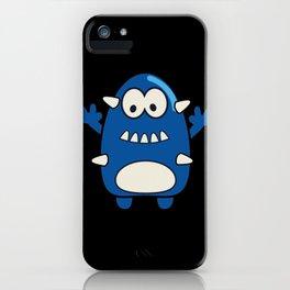 Spiky Monster iPhone Case