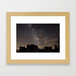 Milky Way Framed Art Print