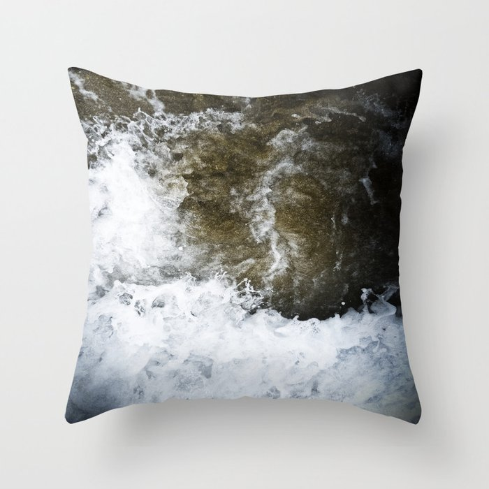 swallowed in the sea part 2 Throw Pillow