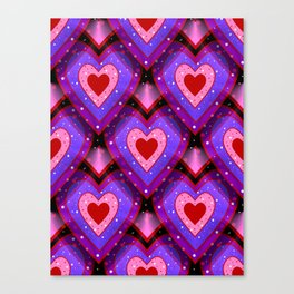 Passion Pattern Canvas Print