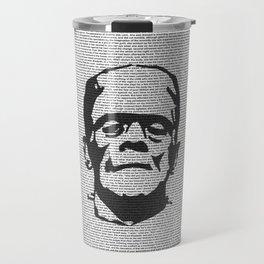 Words of Frankenstein Travel Mug